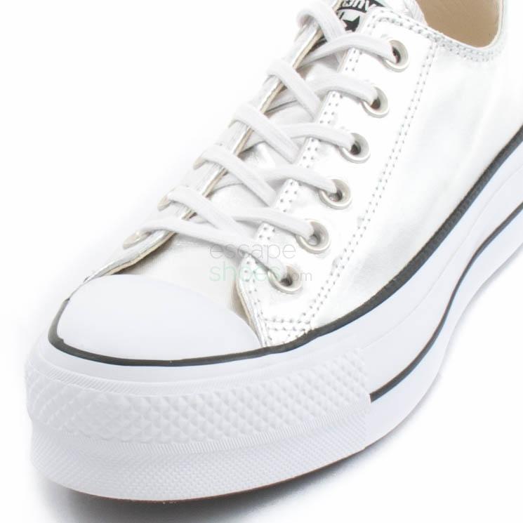 Tenis CONVERSE Chuck Taylor All Star Lift Clean 560248C Silver