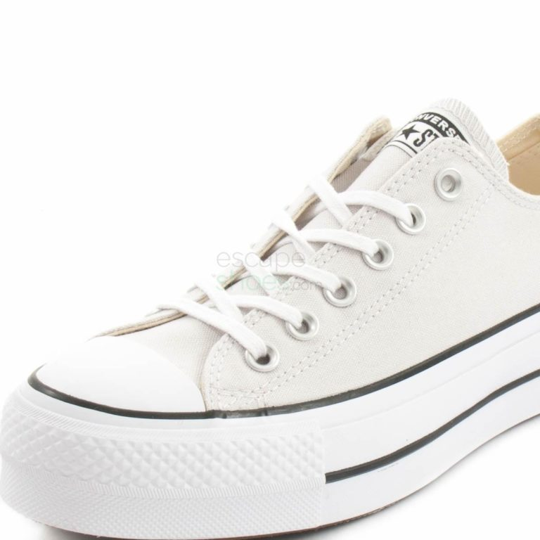 Tenis CONVERSE Chuck Taylor All Star Lift Clean Cinza