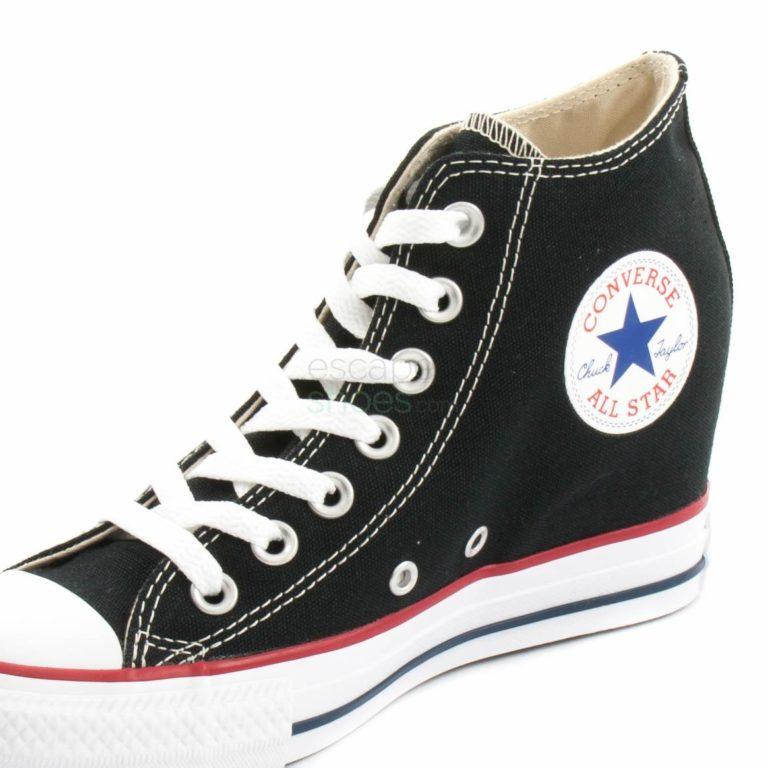 Tenis CONVERSE Chuck Taylor All Star Lux 547198C 001 Mid Black