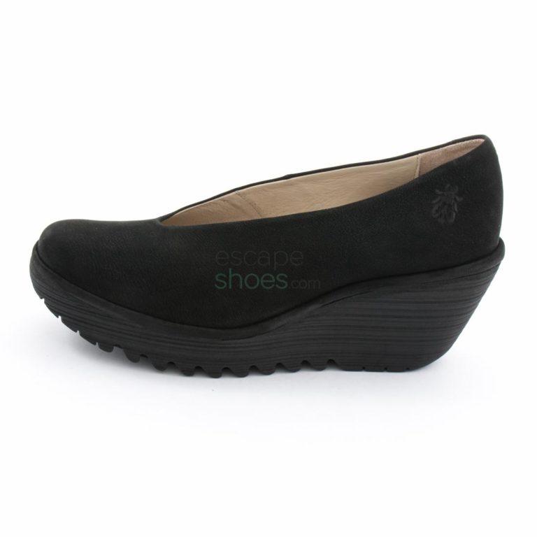 Sapatos FLY LONDON Yellow Yaz Black P500025179