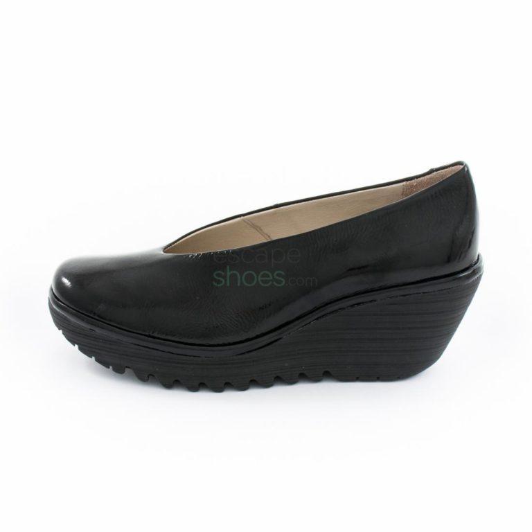 Sapatos FLY LONDON Yellow Yaz Black P500025207