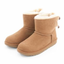 Botas UGG Australia Mini Bailey Bow II Chestnut 1017397K