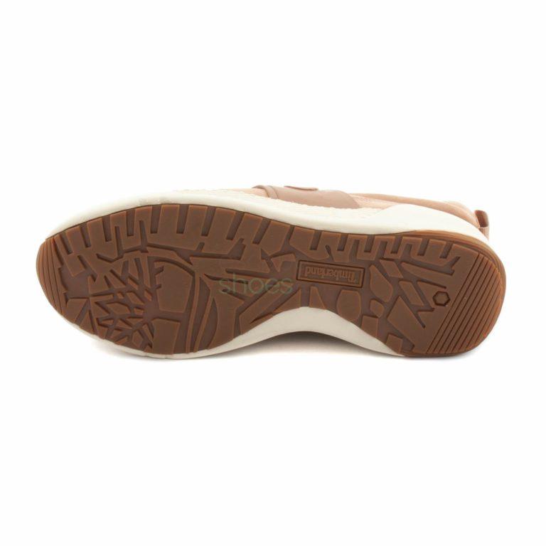 Tenis TIMBERLAND Kiri Up Leather Bege