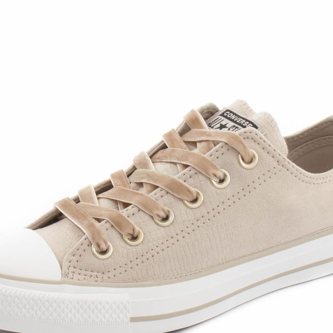 Converse Chuck Taylor All Star Metallic Snake Ox Trainers in