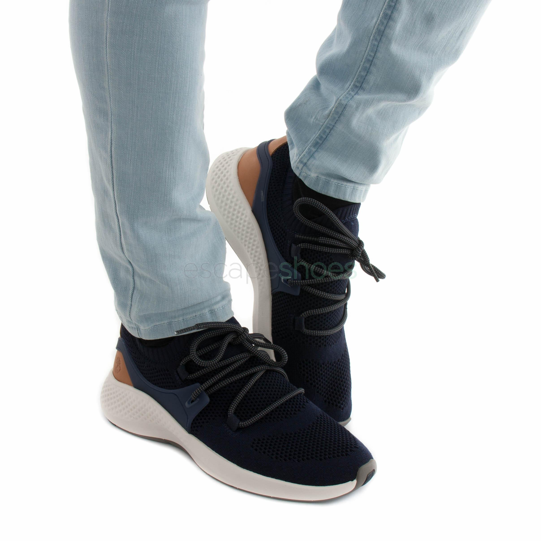 timberland flyroam go mesh strap sneakers