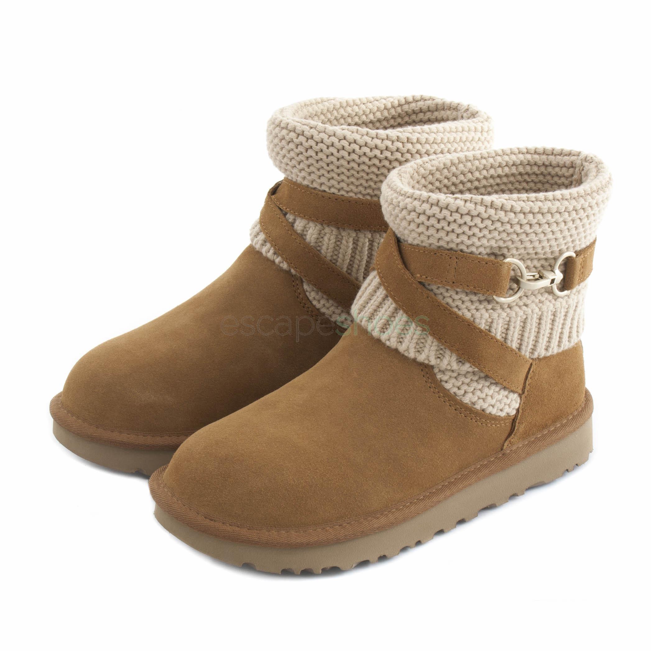 c4409d20daa Boots UGG Australia Purl Strap Brown