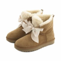 Botas UGG Australia Gita Bow Mini Marron