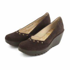 Sapatos FLY LONDON Yellow Yuzo905 Castanho