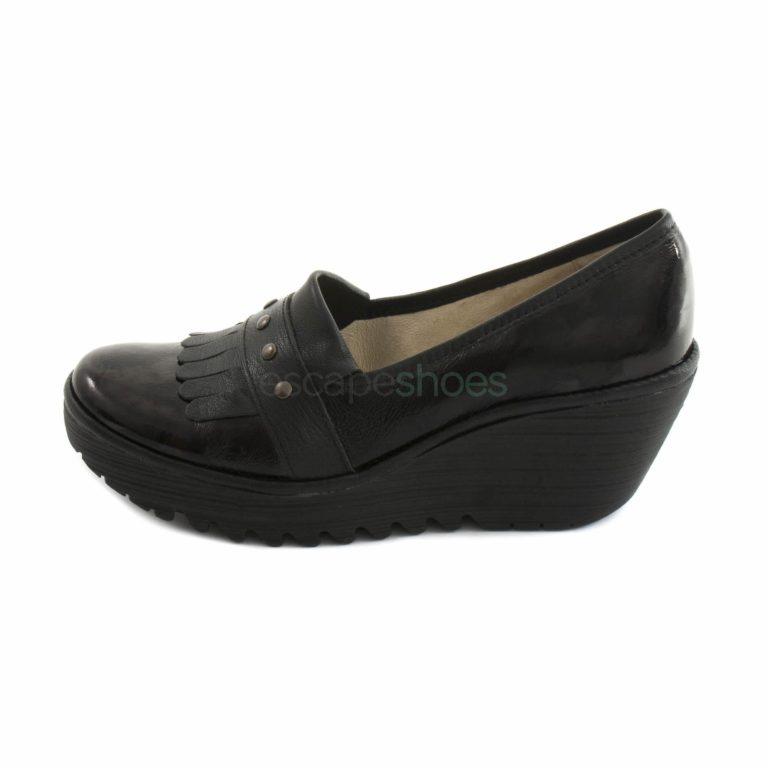 Sapatos FLY LONDON Yellow Yela906 Preto