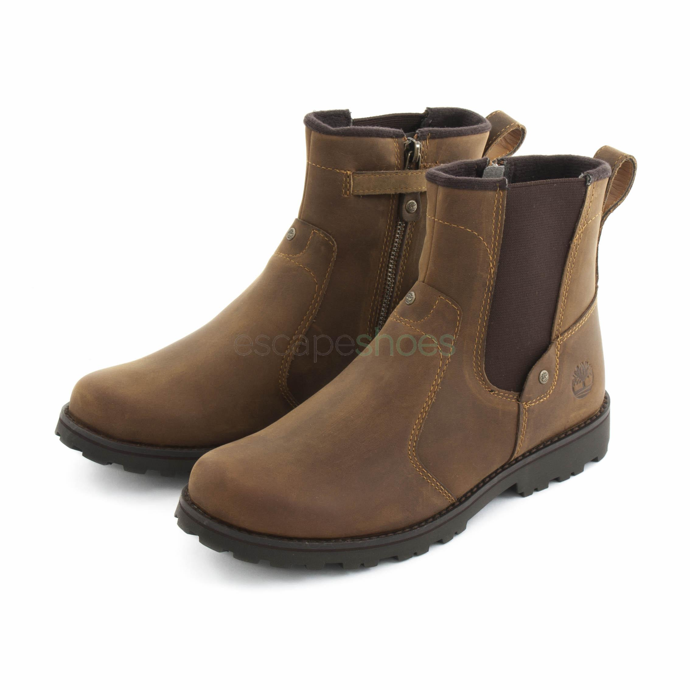 altavoz comprar notificación  Boots TIMBERLAND Junior Asphalt Trail Chelsea Brown 1391R