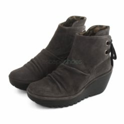 Ankle Boots FLY LONDON Yellow Yama Suede Grey