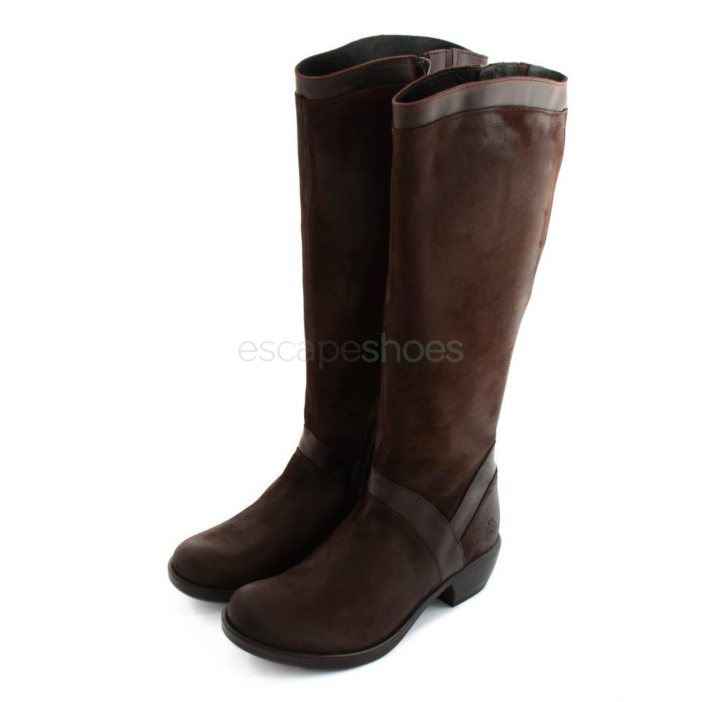 96f4b2277c Buy your Boots FLY LONDON Myla Mazo312 Brown here   Online Store ...