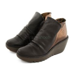 Botins FLY LONDON Yellow Yip Mousse Castanho