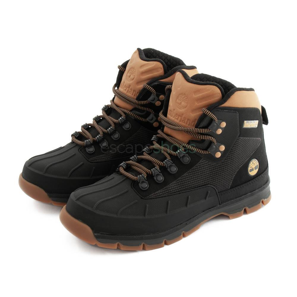 b69e6627a70 Boots TIMBERLAND Euro Hiker Shell Black
