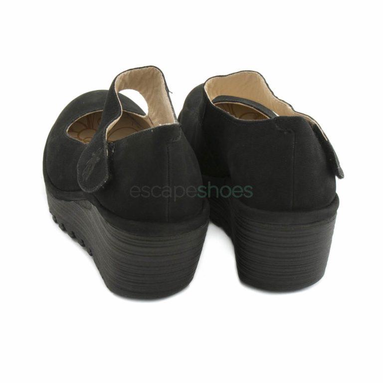 Sapatos FLY LONDON Yellow Yasi682 Cupido Preto