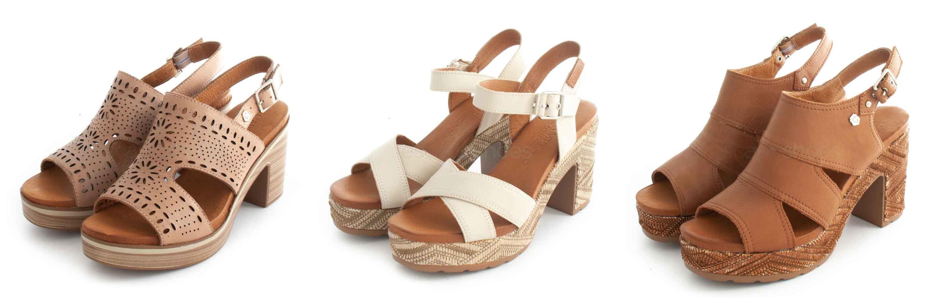 Sandálias altas Carmela