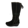 Boots FLY LONDON Yellow Yust Suede Black P500327006
