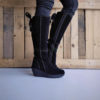 Botas FLY LONDON Yellow Yust Suede Black P500327006