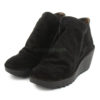 Botins FLY LONDON Yellow Yip Oil Suede Black P500505000