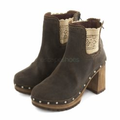 Ankle Boots XUZ Pop Heel Lace Russo Brown