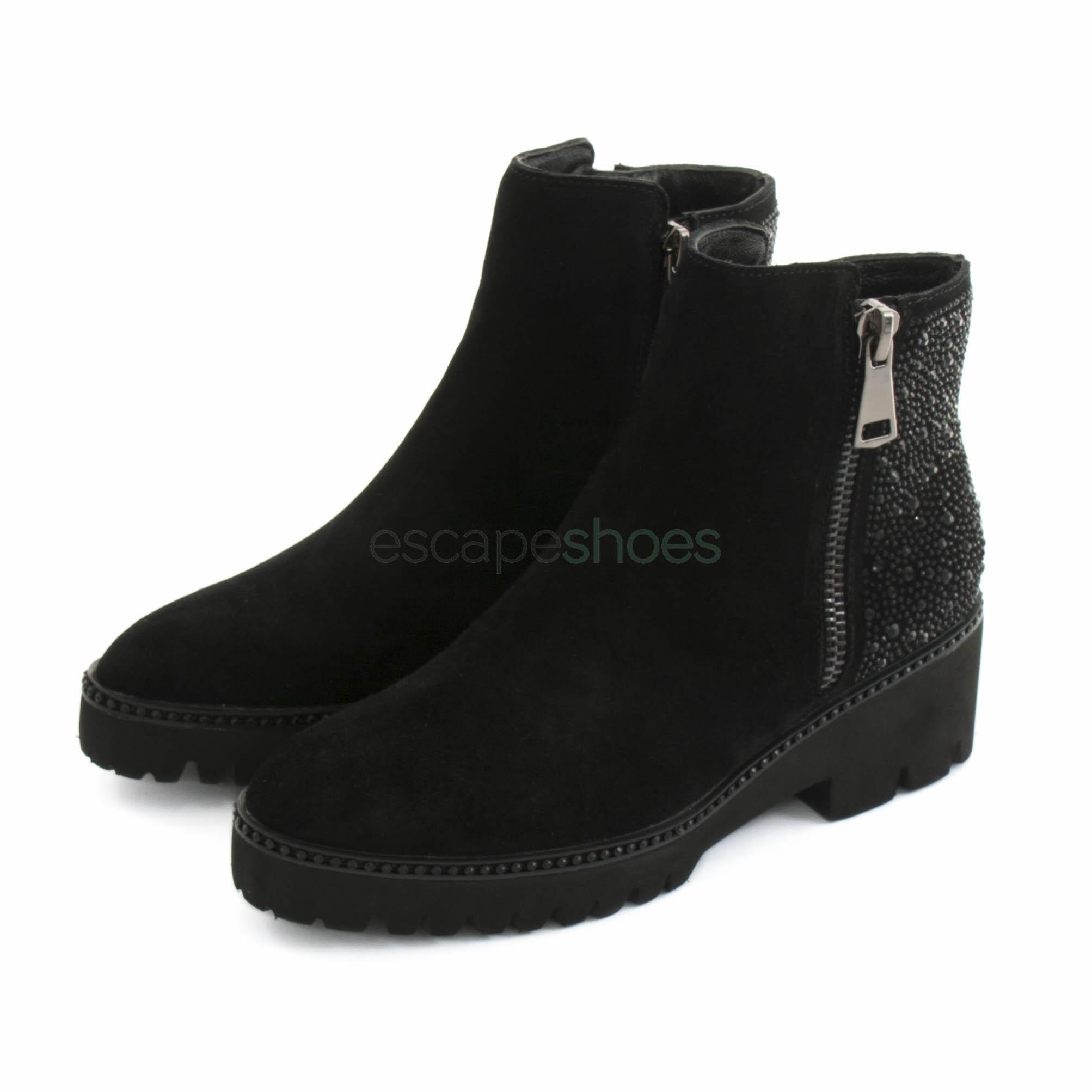 f32a475bb73 Compra aquí tus Botines ALMA EN PENA Crosta Negro   Tienda Online ...