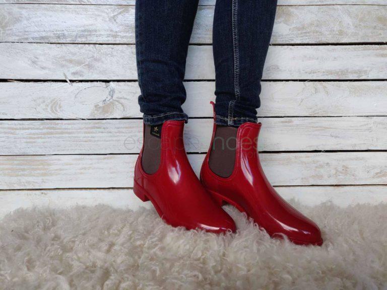 Galochas CUBANAS Rainy Vermelhas