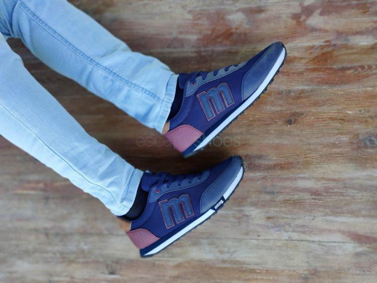 Zapatillas MTNG Funner Jogger Vertigo Marino