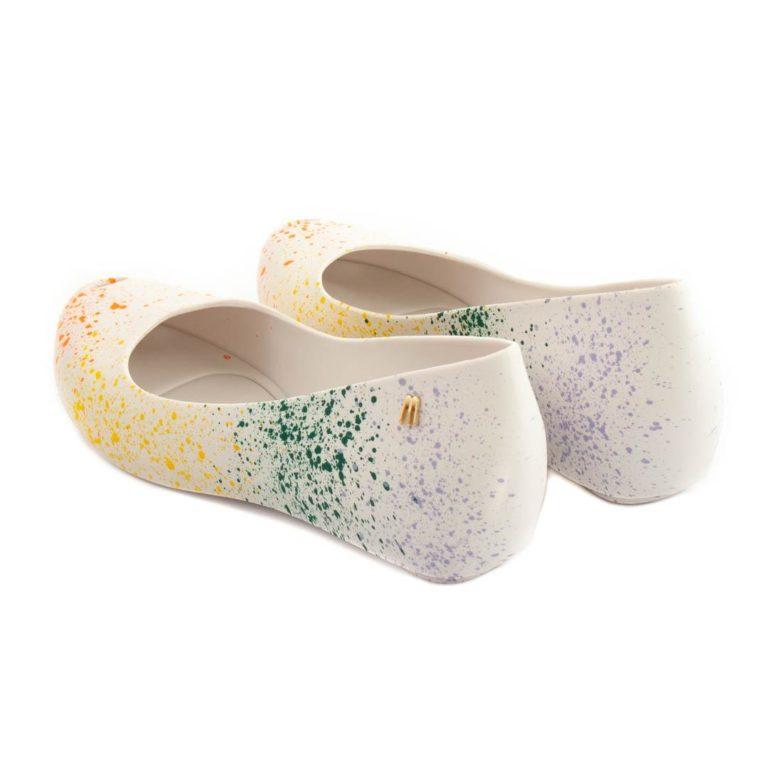 Flat Shoes MELISSA Ultragirl Splash White