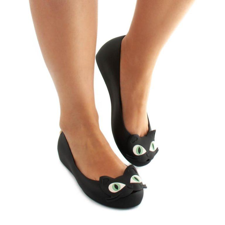 Flat Shoes MELISSA Ultragirl Cat II Black