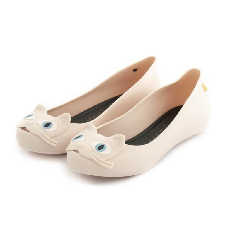 Flat Shoes MELISSA Ultragirl Cat II Beige