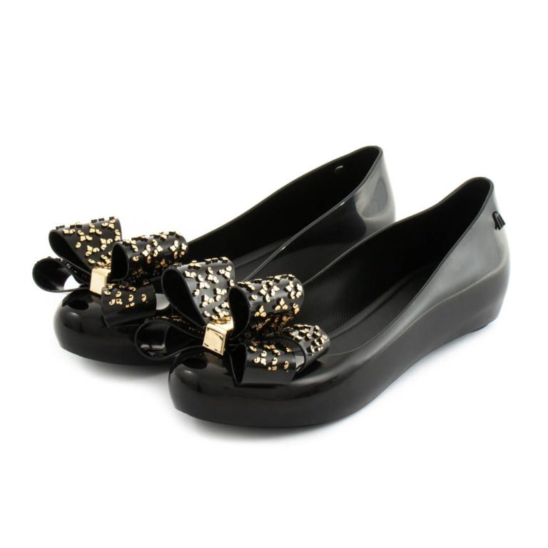 Flat Shoes MELISSA Ultragirl Sweet XVI Black