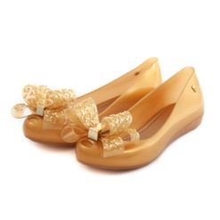 Flat Shoes MELISSA Ultragirl Sweet XVI Gold