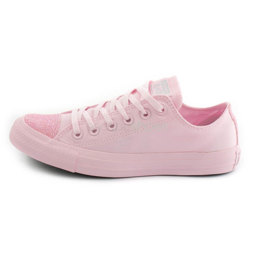 converse rosa purpurina