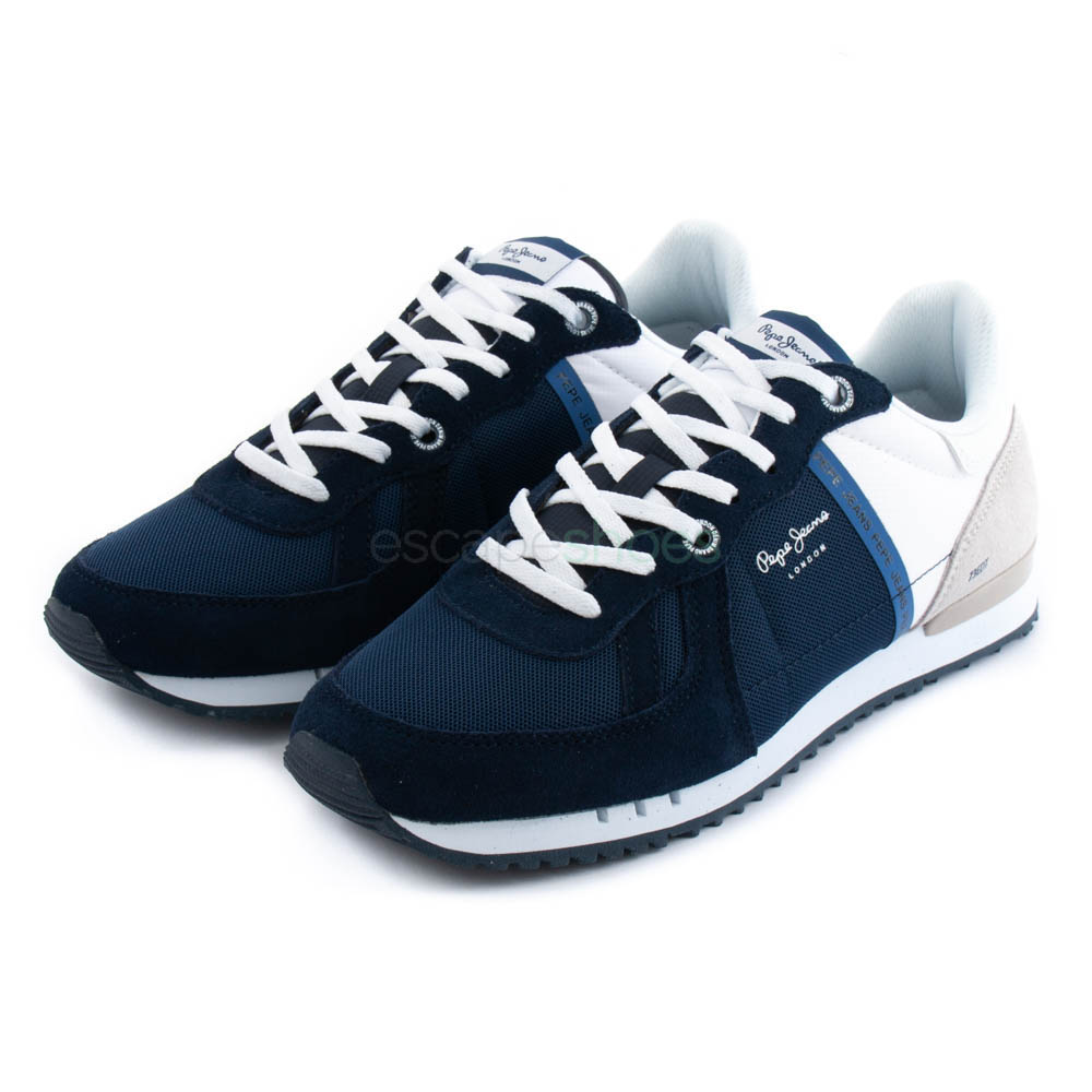 c9040bfcb30 Buy your Sneakers PEPE JEANS Tinker Zero Seal Midnight here | Online ...