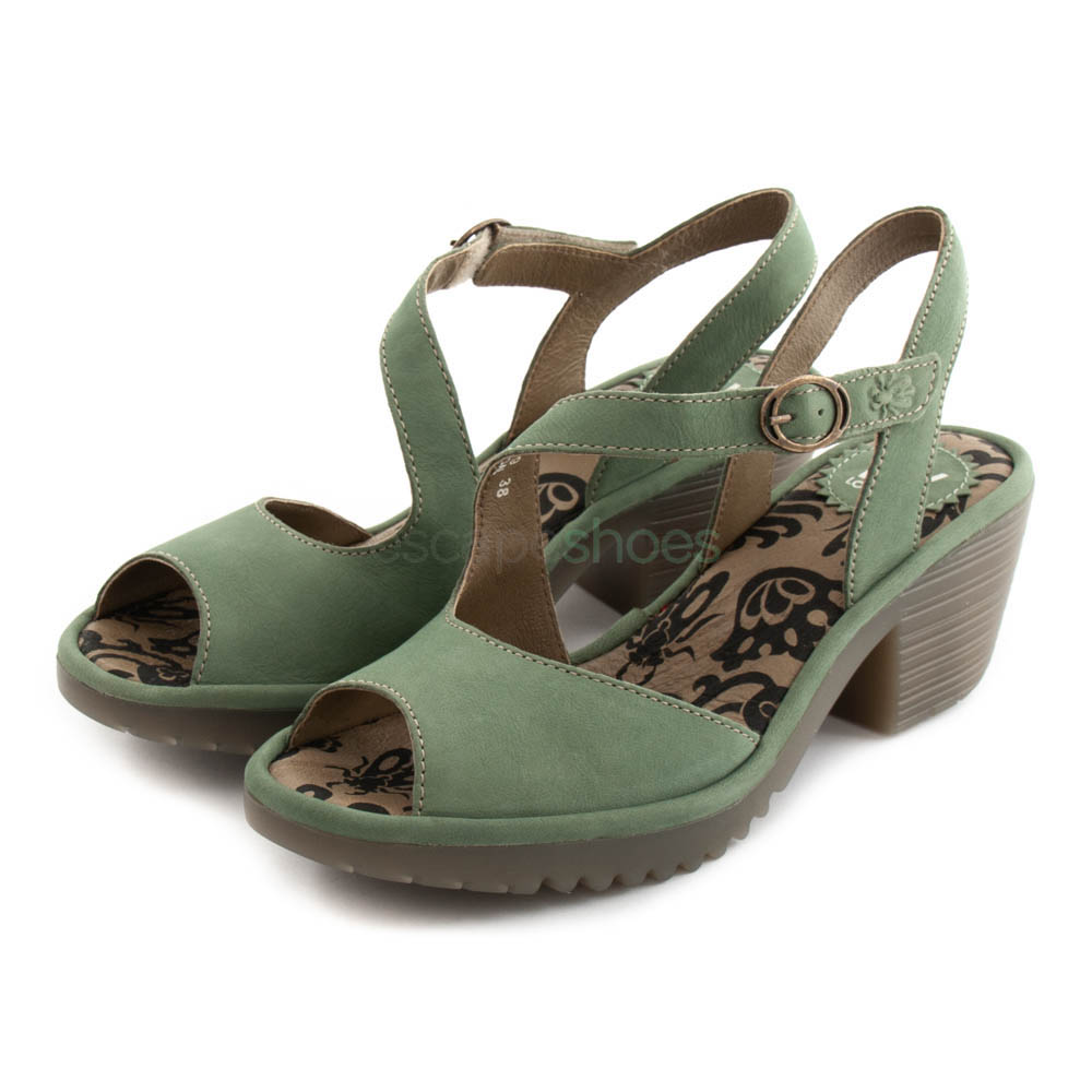 e3a5b682b70b7 Buy your Sandals FLY LONDON Willow Wyno023 Jade here | Online Store ...
