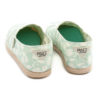 Alpargatas PAEZ Classic Print Daisy Ceramic Verde