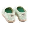 Alpargatas PAEZ Classic Print Daisy Ceramic Green