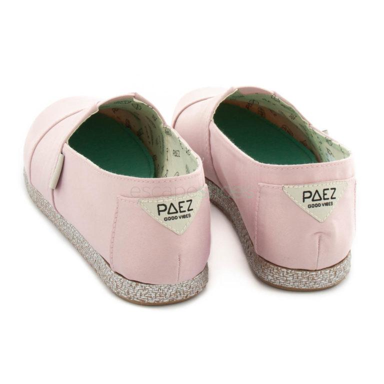 Alpargatas PAEZ Classic Satin Nude Pink