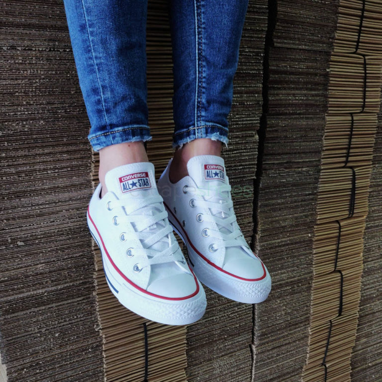 Sneakers CONVERSE All Star M7652 102 Ox Optical White