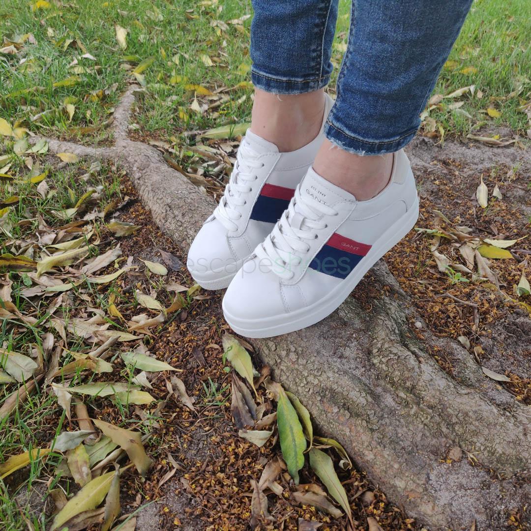 Sneakers GANT Aurora Bright Leather White