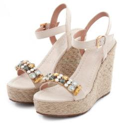 Sandals MARIAMARE Aroa Afelpado Nude