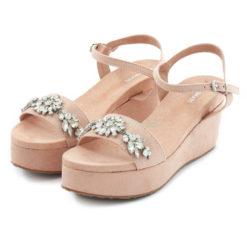 Sandals MARIAMARE Danna Afelpado Nude