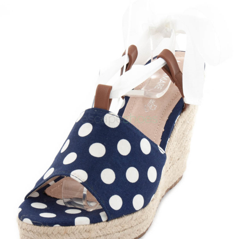 Sandals MARIAMARE Lilo Polka Navy