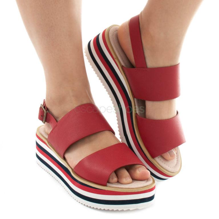 Sandals MARIAMARE Mali Brina Red