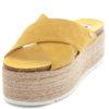 Sandalias MTNG Lita Cow Amarelo