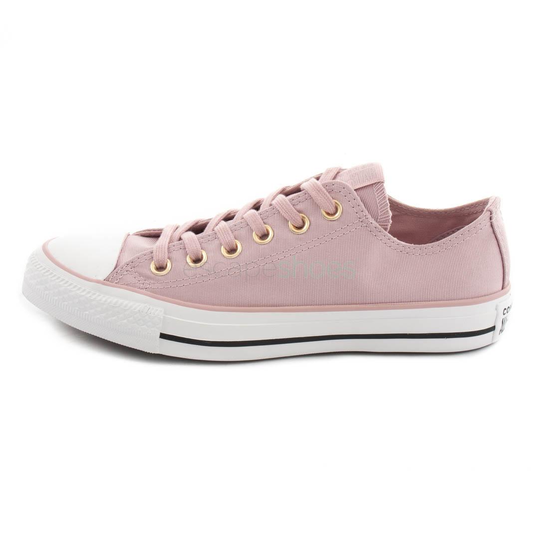 converse suede rosa