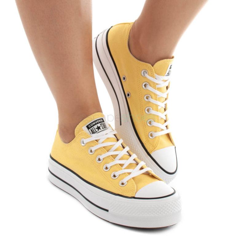 Ténis CONVERSE Chuck Taylor All Star Lift Amarelo