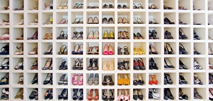 Famous closets – How celebrities organize their shoes!