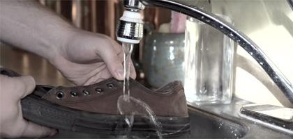 Impermeabilizar o seu calçado
