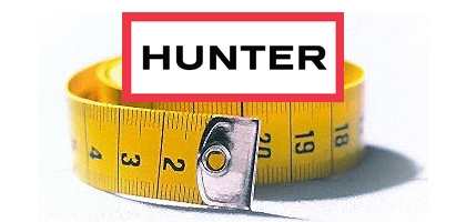 Hunter Wellies – Proportions and measurements. The information that was missing!